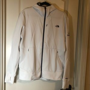 White Northface jacket